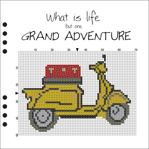 Grand Adventure - Yellow Scooter