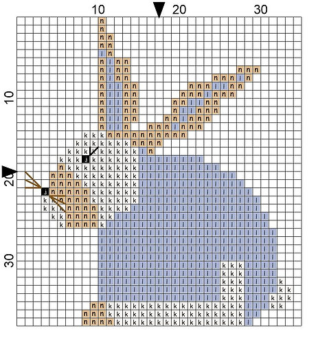 Magnet Rabbit 07
