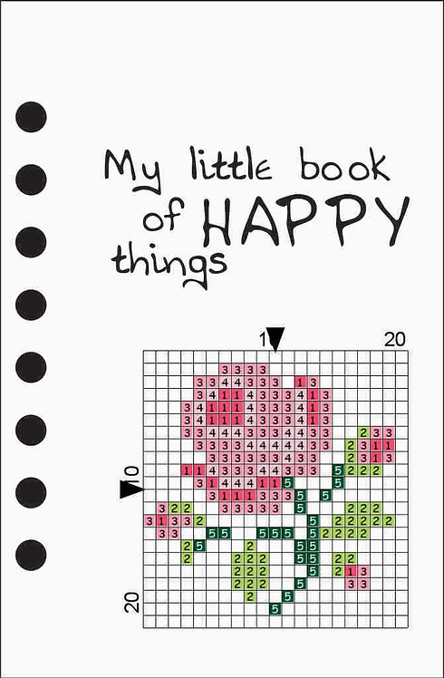 Small notebook -My little book of Happy Things