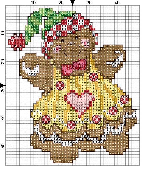 Christmas Ginger woman