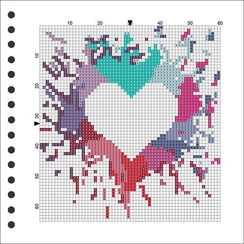 Photo Book - Heart Splash