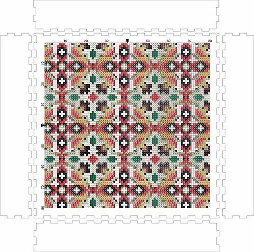 Wall Art Block - Pattern 4