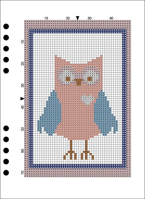 A5 Wooden Book - Owl