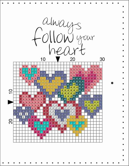 A6 Leather Cover- Always follow your heart 3