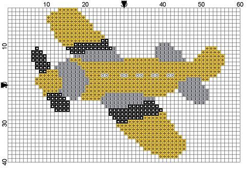 Aeroplane Yellow