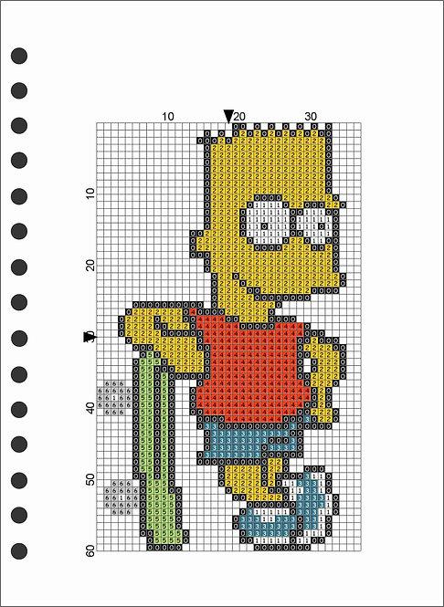 A5 Wooden Book - Bart Simpson