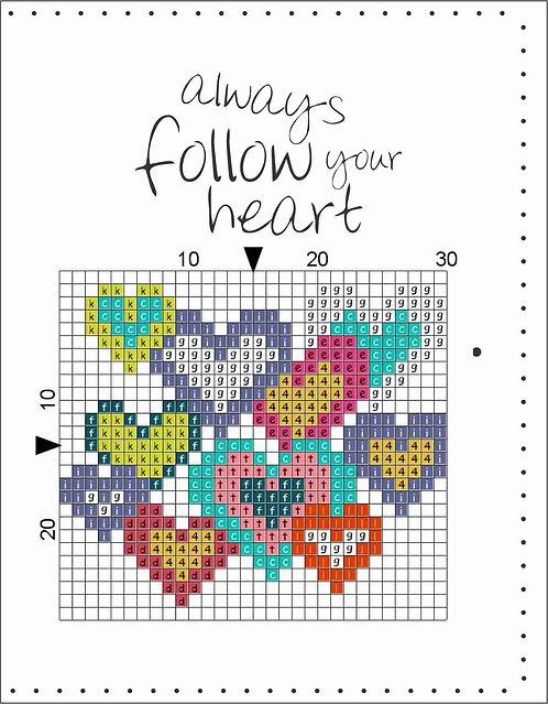 A6 Leather Cover- Always follow your heart 2
