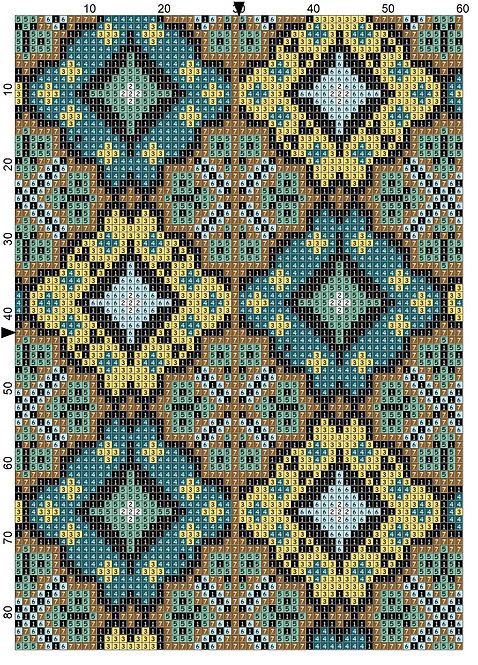 Bible Cover Pattern 8