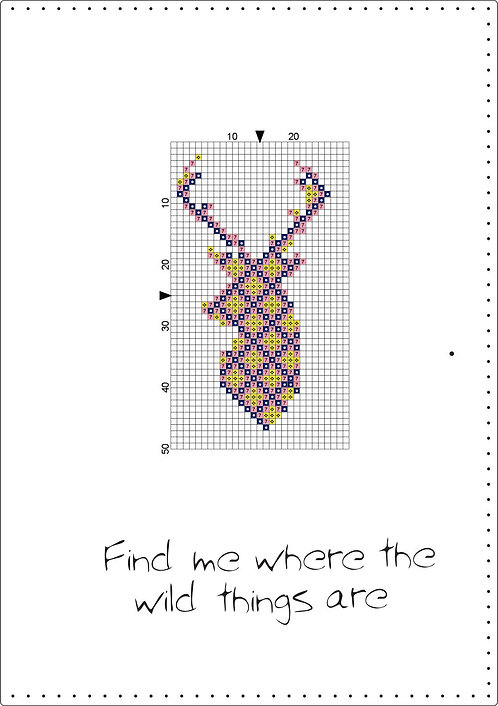 A5 Leather - Find me where the wild things are-Pink