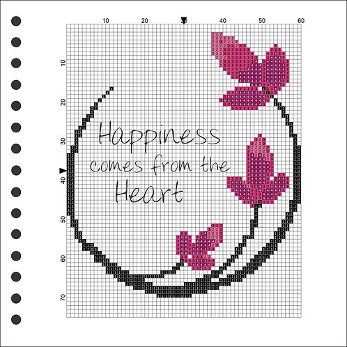 Photo Book - Happiness comes from the Heart