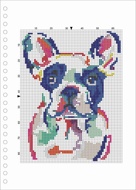 A4 Wood book -Frenchie
