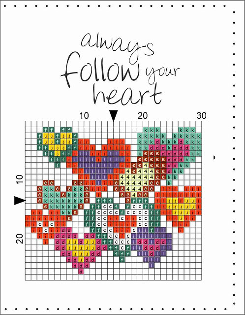 A6 Leather Cover- Always follow your heart 4