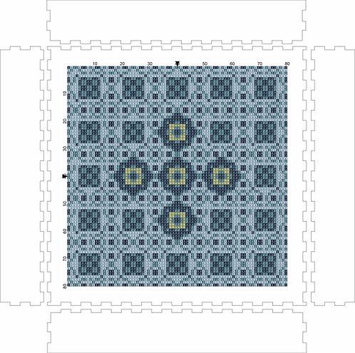 Wall Art Block - Pattern 6