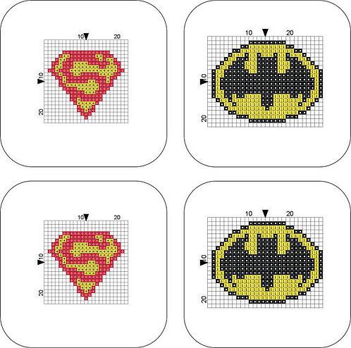Coaster Batman/Superman