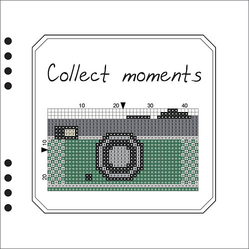 Photo Book - Collect Moments Green