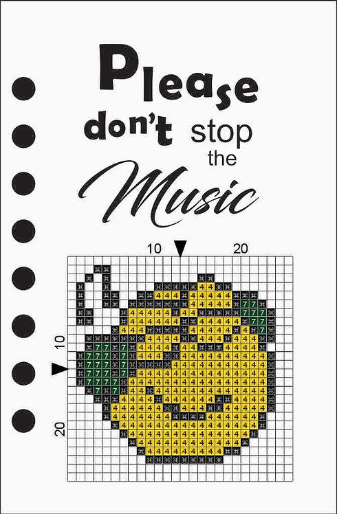 Small notebook - Emoji Music