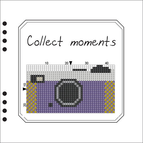 Photo Book - Collect Moments Purple