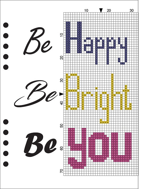 A5 Wooden Book - Be Happy, Be Bright, Be You 2