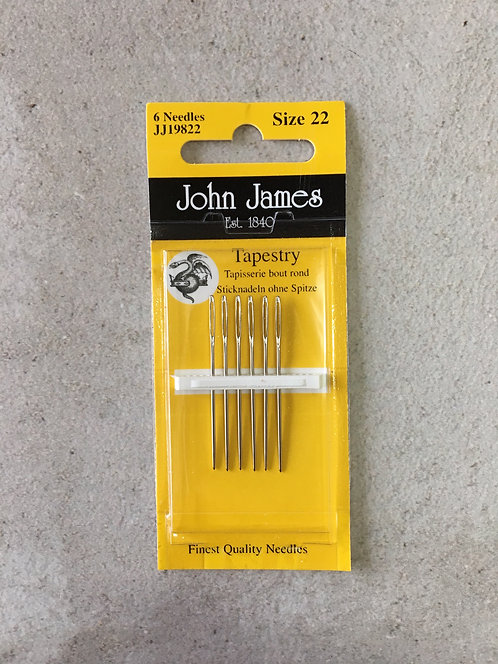 John James Tapestry Needle 22