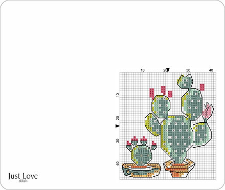 Leather Mouse pad - Cactus 2