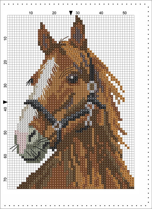 A5 Leather - Horse