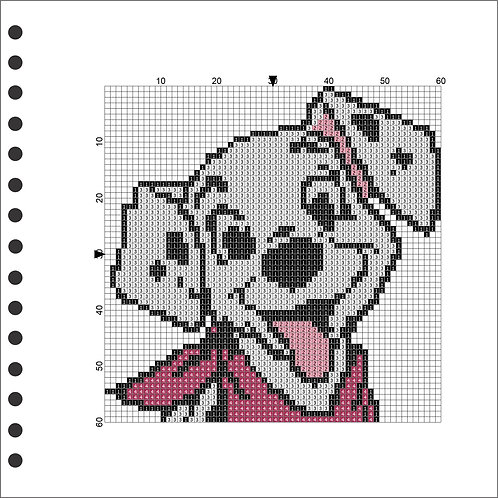 Dalmation Photo Book - Pink