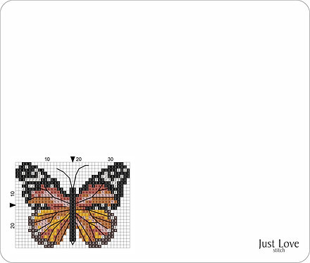 Leather Mouse pad -Butterfly 2