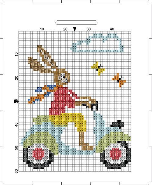Money Box - Rabbit on Scooter 2