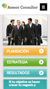 Comunicación y Marketing plantillas web – Asesor de negocios