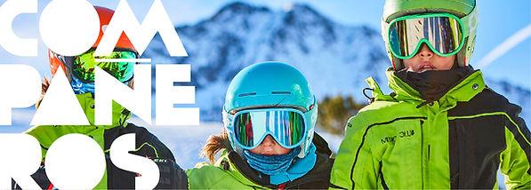 valores, deporte, compañerismo, amistad, crecer juntos, esqui niños madrid