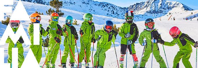 club esqui madrid, equipo competicion esqui alpino, esqui niños, todas las edades, xanadu niños pequeños, aprender a esquiar, mejorar esqui todo el año