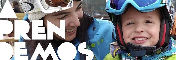 esqui niños madrid, aprender a esquiar desde dos años, baby esqui, niños pequeños