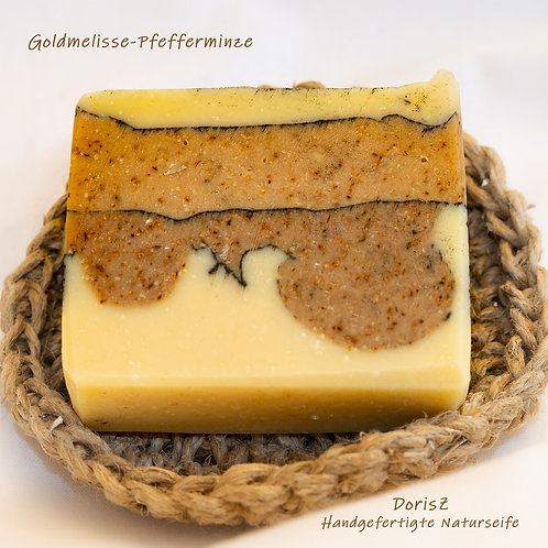 Goldmelisse-Pfefferminze mit Ziegenmilch