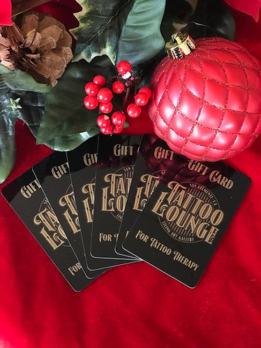 TATTOO & MICROBLADING GIFT CARD
