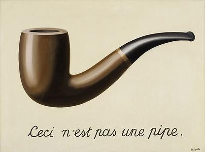 Esto no es una pipa, Magritte