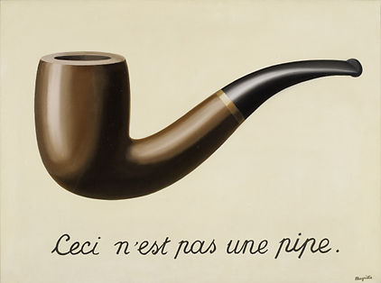 This is not a pipe, Magritte