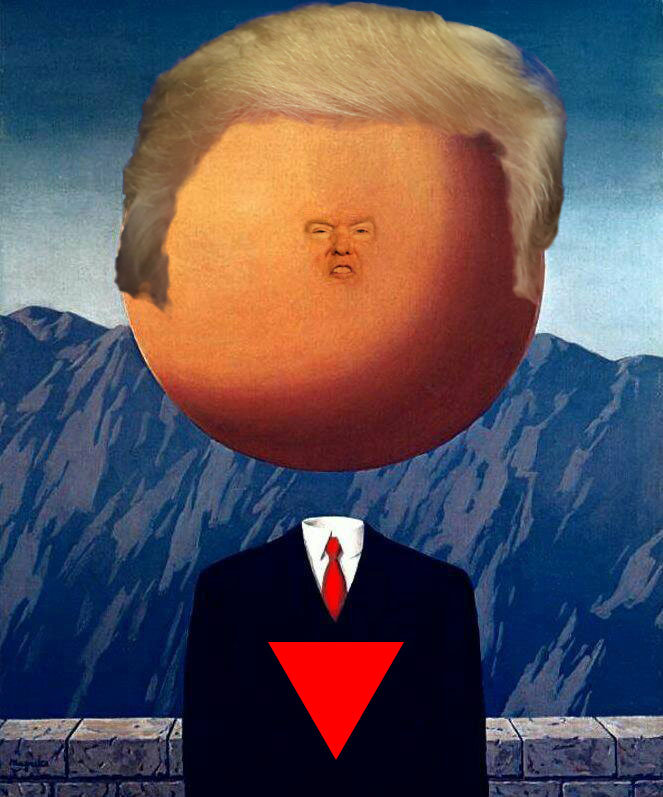 Trump-Magritte Matias Quintero Sepulveda
