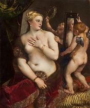 Venus en el espejo, Tiziano