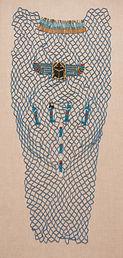 Fayenza egipcia, egyptian faience, azul egipcio, egyptian blue