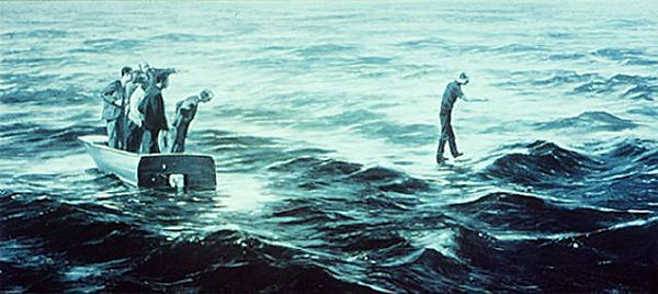 Myth of Depth, Mark Tansey