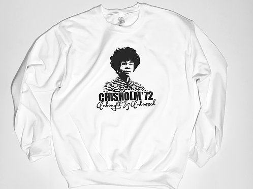 """""""Chisholm Unbought & Unbossed"""" Sweater"""