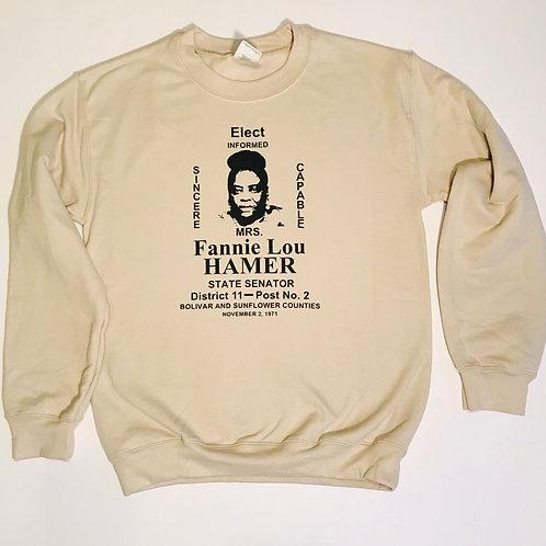 """""""Fannie Lou Hamer Campaign"""" Sweater"""
