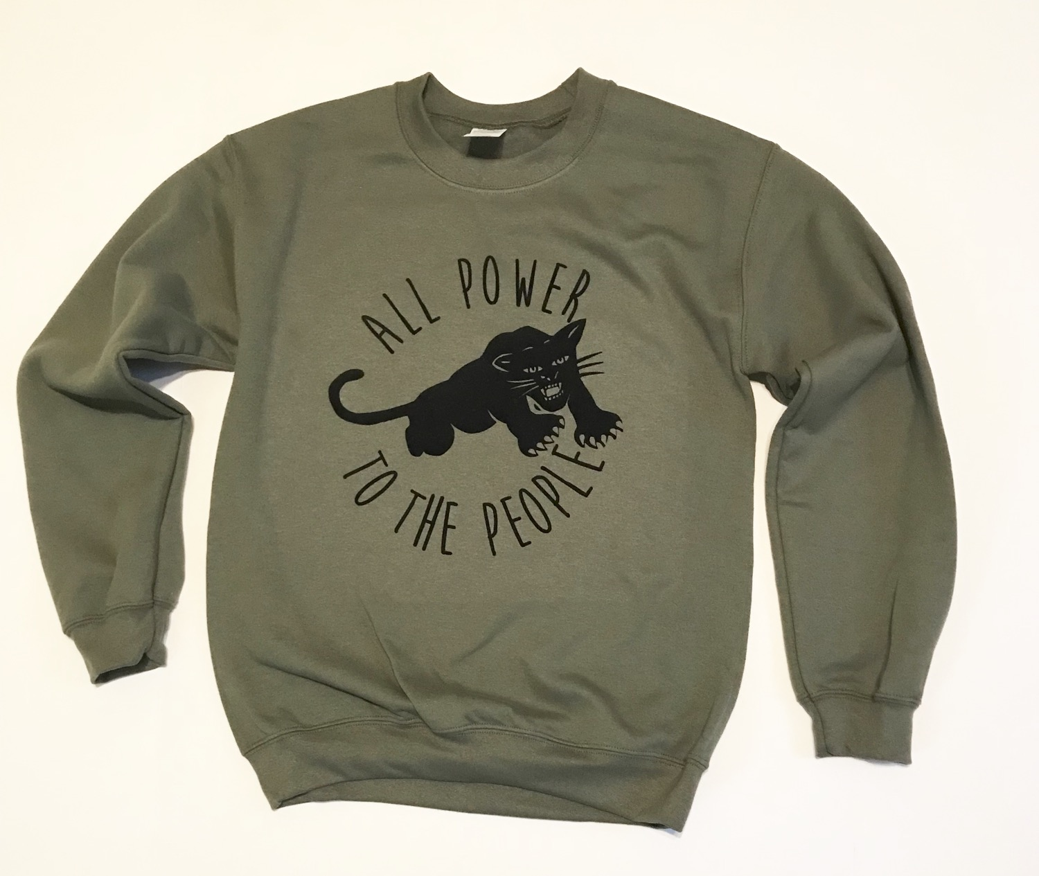 """All Power"" Sweater inspired by the Black Panther Party"
