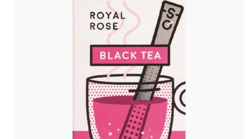 英國STICKSOLOGY Royal Rose 皇室玫瑰紅茶