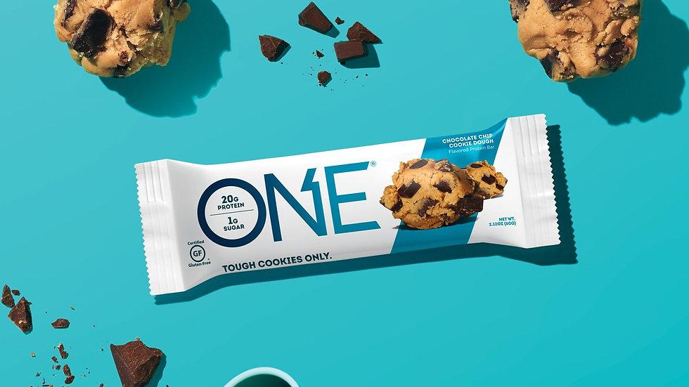 美國ONE Tough Cookies Only Bar 不含麩質低卡朱古力曲奇蛋白棒