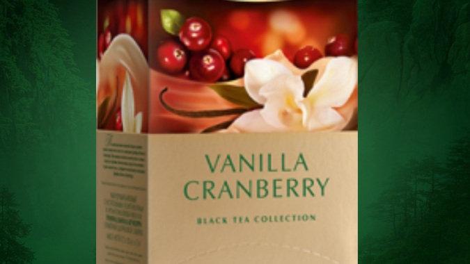 英國GREENFIELD Vanilla Cranberry 香草紅莓