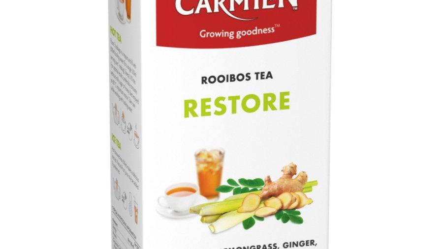 南非CARMIEN Restore 博士茶 + 香茅 薑 人蔘 辣木葉