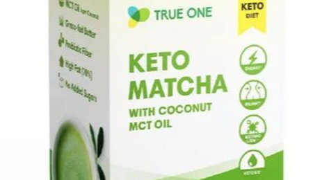 台灣TRUE ONE Keto Matcha with Coconut oil 生酮抹茶