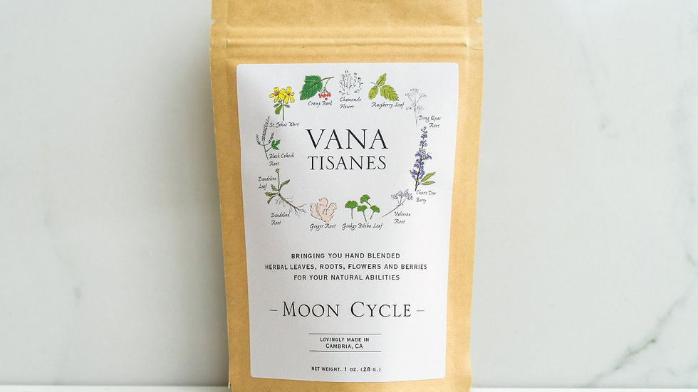 美國VANA TISANES Moon Cycle 女性能量 28g