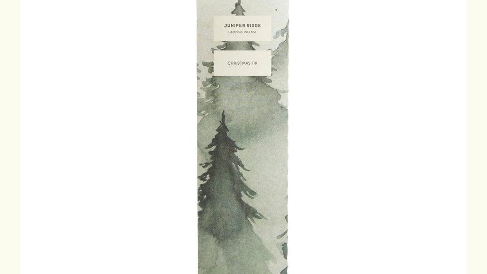 美國JUNIPER RIDGE Christmas Fir Incense sticks 聖誕冷杉薰枝 20pc (枝)